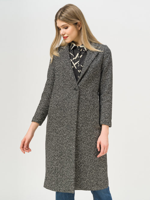 Текстильное пальто артикул 18810118/40 - фото 2
