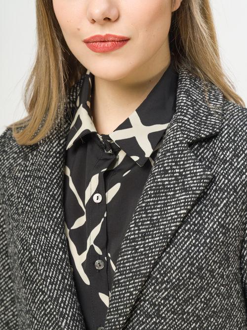 Текстильное пальто артикул 18810118/40 - фото 4