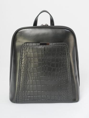 Сумка кожа теленок, цвет черный, арт. 18810161  - цена 4990 руб.  - магазин TOTOGROUP