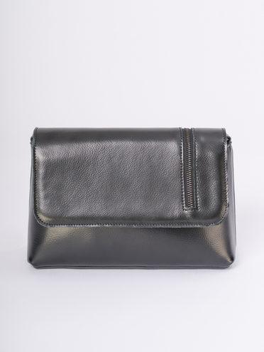 Сумка кожа флоттер, цвет черный, арт. 18810168  - цена 3390 руб.  - магазин TOTOGROUP