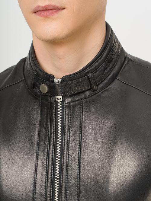 Кожаная куртка артикул 18810170/50 - фото 4