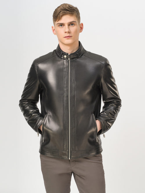 Кожаная куртка артикул 18810170/50