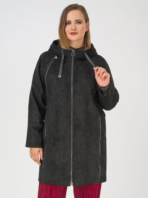 Кожаное пальто артикул 18810201/46 - фото 2