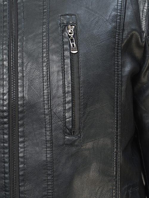 Кожаная куртка артикул 18810205/46 - фото 3