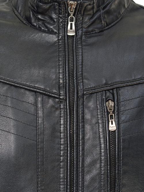 Кожаная куртка артикул 18810212/46 - фото 3