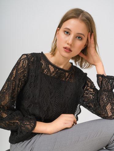 Блуза , цвет черный, арт. 18810232  - цена 1570 руб.  - магазин TOTOGROUP