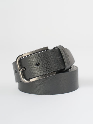 Ремень кожа теленок, цвет черный, арт. 18810275  - цена 550 руб.  - магазин TOTOGROUP