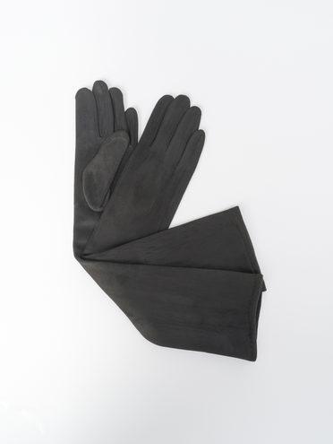 Перчатки трикотаж, цвет черный, арт. 18810307  - цена 690 руб.  - магазин TOTOGROUP