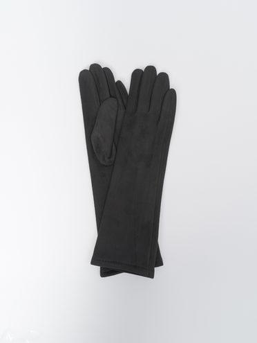 Перчатки трикотаж, цвет черный, арт. 18810308  - цена 790 руб.  - магазин TOTOGROUP