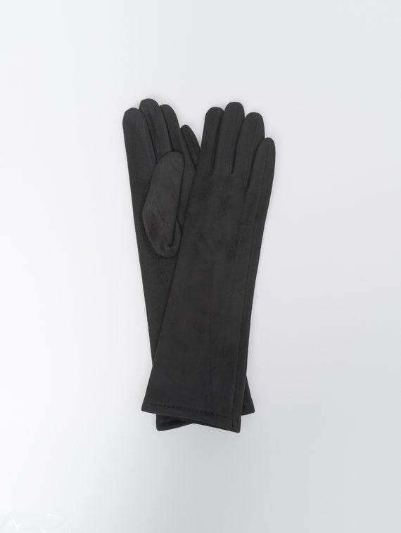 Перчатки трикотаж, цвет черный, арт. 18810308  - цена 590 руб.  - магазин TOTOGROUP