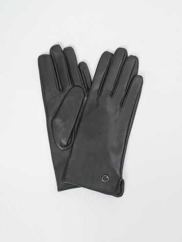 Перчатки кожа, цвет черный, арт. 18810309  - цена 1570 руб.  - магазин TOTOGROUP