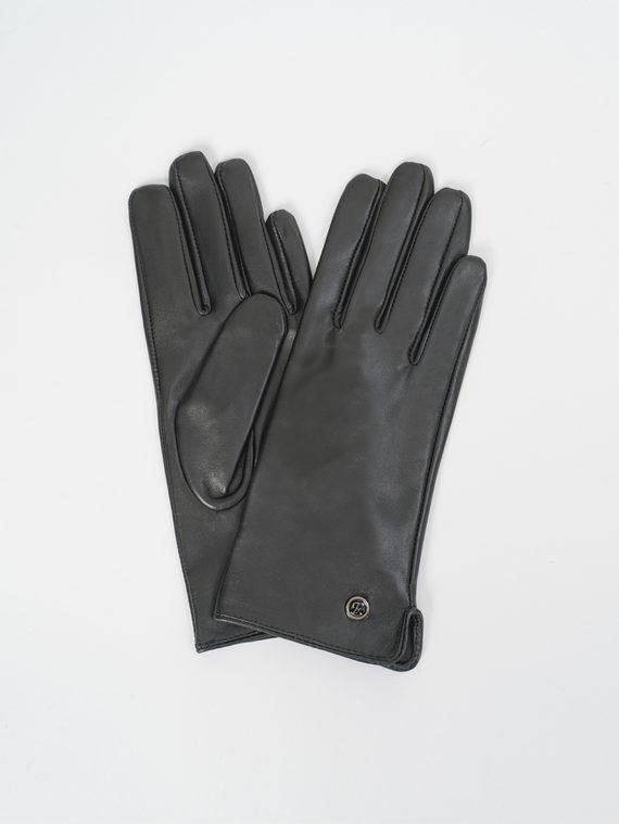 Перчатки кожа, цвет черный, арт. 18810309  - цена 1190 руб.  - магазин TOTOGROUP