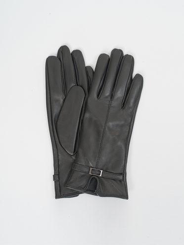 Перчатки кожа, цвет черный, арт. 18810313  - цена 1660 руб.  - магазин TOTOGROUP