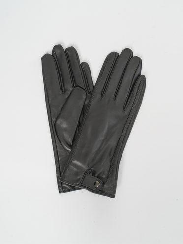 Перчатки кожа, цвет черный, арт. 18810314  - цена 1660 руб.  - магазин TOTOGROUP