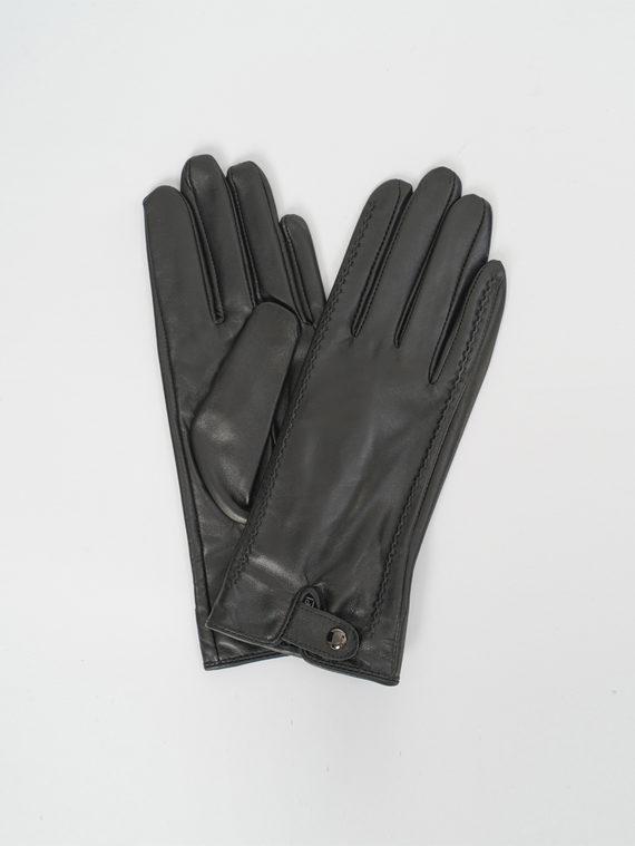 Перчатки кожа, цвет черный, арт. 18810314  - цена 1330 руб.  - магазин TOTOGROUP