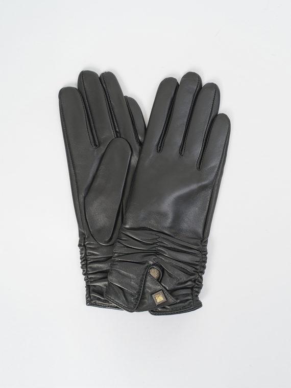 Перчатки кожа, цвет черный, арт. 18810315  - цена 1490 руб.  - магазин TOTOGROUP
