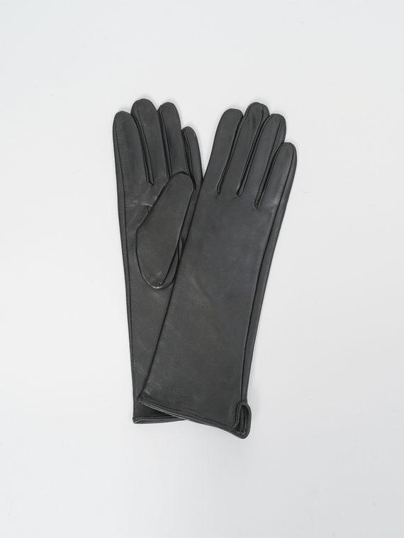 Перчатки кожа, цвет черный, арт. 18810317  - цена 1260 руб.  - магазин TOTOGROUP