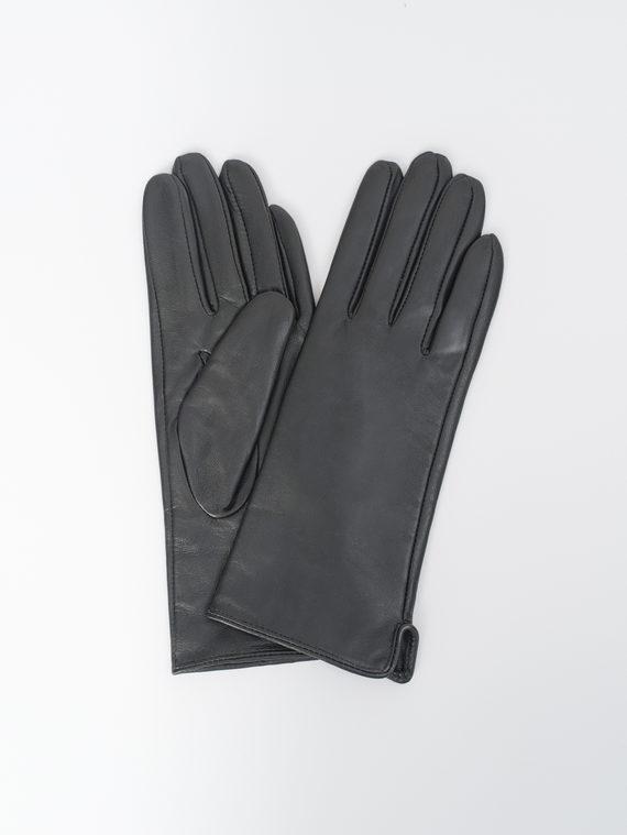Перчатки кожа, цвет черный, арт. 18810318  - цена 990 руб.  - магазин TOTOGROUP