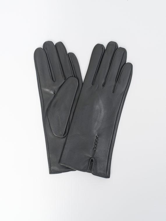 Перчатки кожа, цвет черный, арт. 18810323  - цена 990 руб.  - магазин TOTOGROUP