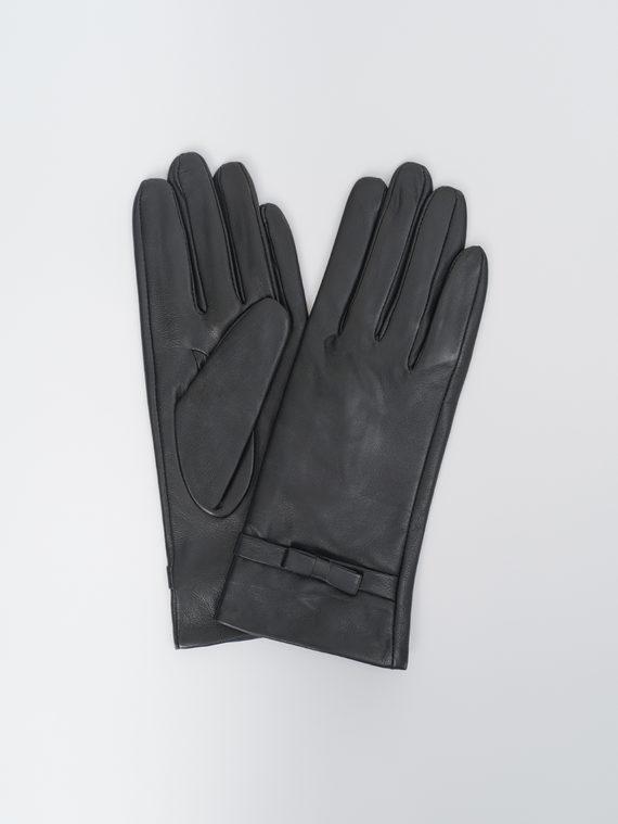 Перчатки кожа, цвет черный, арт. 18810327  - цена 990 руб.  - магазин TOTOGROUP