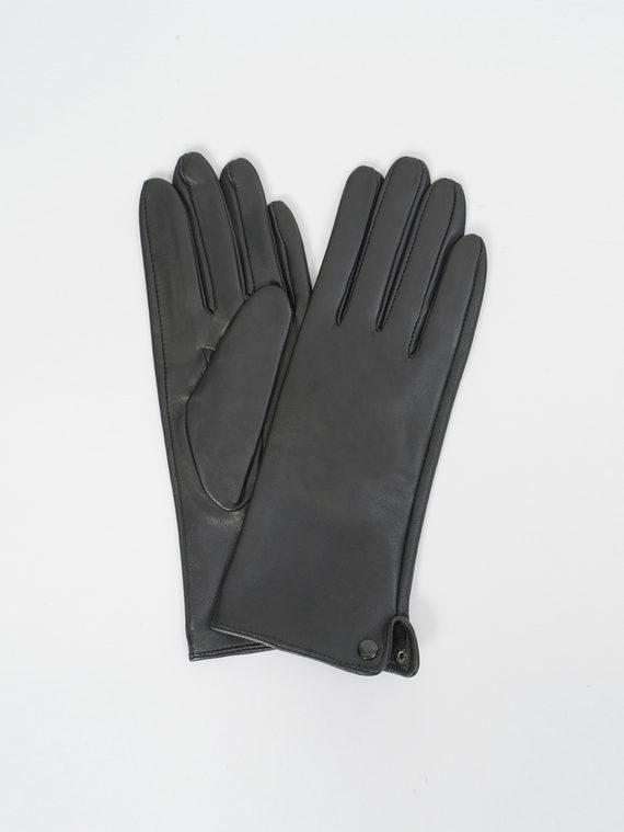 Перчатки кожа, цвет черный, арт. 18810333  - цена 990 руб.  - магазин TOTOGROUP