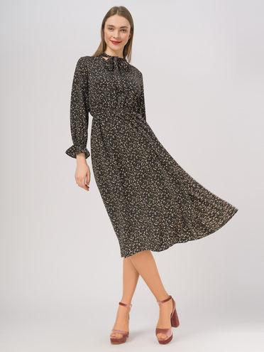 Платье 65% полиэстер, 35% хлопок, цвет черный, арт. 18810336  - цена 1190 руб.  - магазин TOTOGROUP