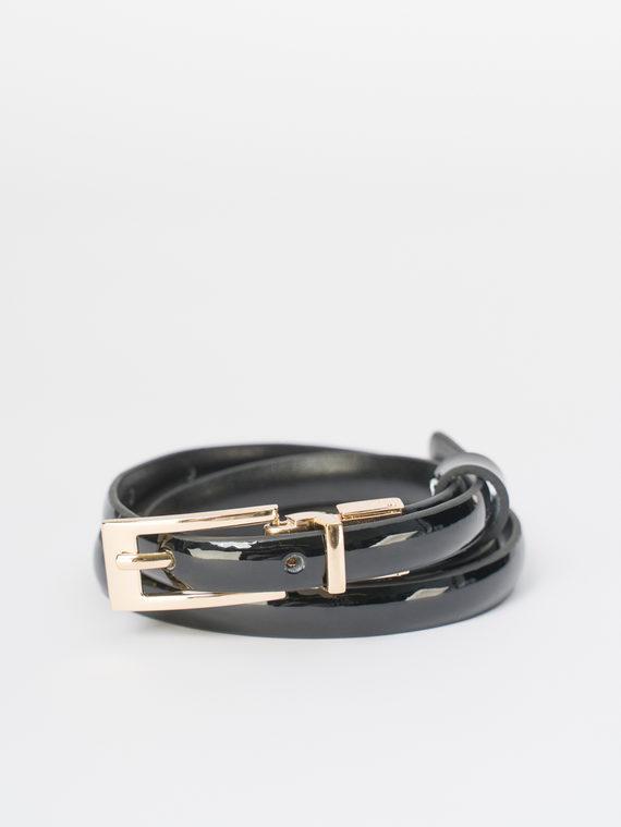 Ремень кожа теленок, цвет черный, арт. 18810394  - цена 640 руб.  - магазин TOTOGROUP