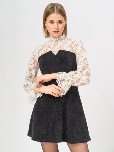 Платье 70% хлопок, 30% нейлон, цвет черный, арт. 18810410  - цена 1950 руб.  - магазин TOTOGROUP
