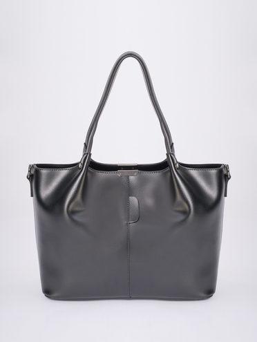 Сумка эко-кожа 100% П/А, цвет черный, арт. 18810457  - цена 2840 руб.  - магазин TOTOGROUP
