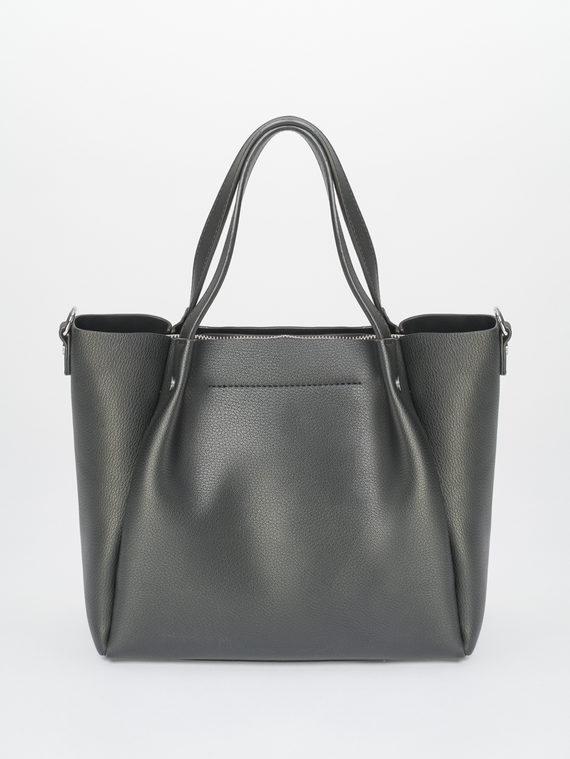 Сумка эко-кожа 100% П/А, цвет черный, арт. 18810459  - цена 1950 руб.  - магазин TOTOGROUP