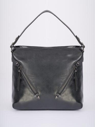 Сумка эко-кожа 100% П/А, цвет черный, арт. 18810460  - цена 2990 руб.  - магазин TOTOGROUP