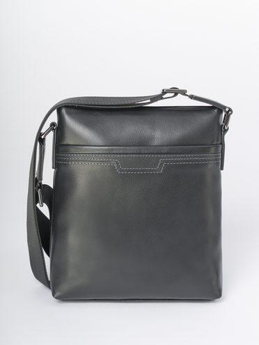 Сумка кожа теленок, цвет черный, арт. 18810478  - цена 4740 руб.  - магазин TOTOGROUP