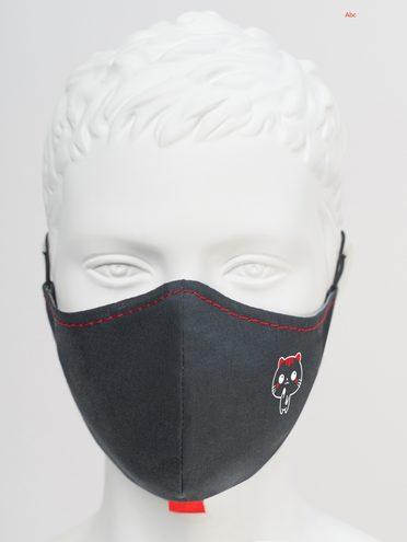 МАСКА текстиль, цвет черный, арт. 18810536  - цена 590 руб.  - магазин TOTOGROUP
