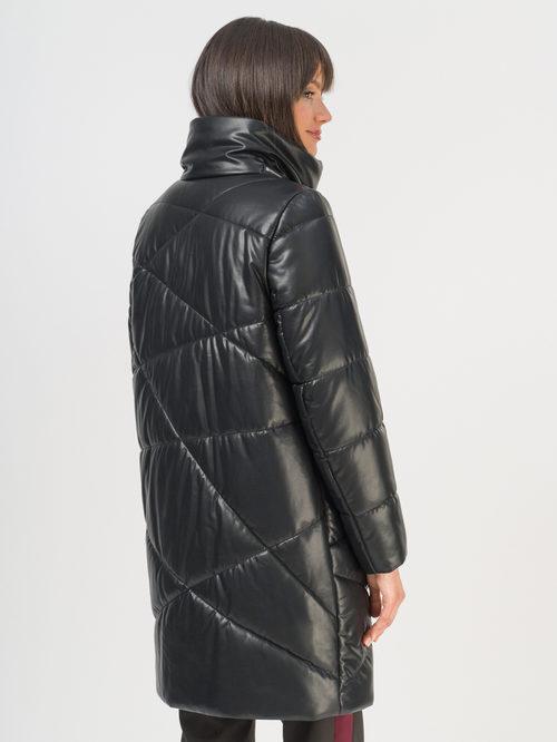 Кожаное пальто артикул 18810541/46 - фото 3