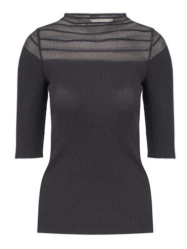 Джемпер 65% вискоза,35% нейлон, цвет черный, арт. 18810551  - цена 740 руб.  - магазин TOTOGROUP