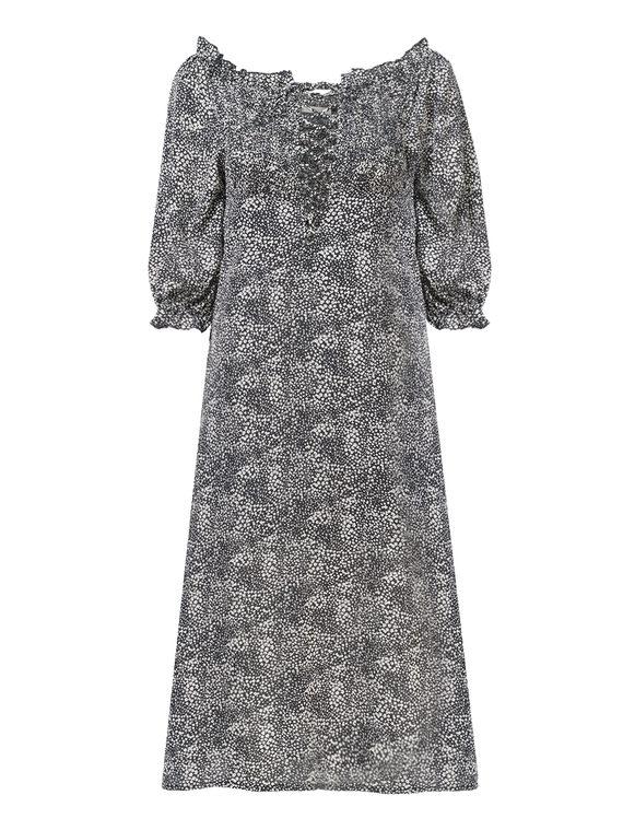 Платье , цвет черный, арт. 18810553  - цена 990 руб.  - магазин TOTOGROUP