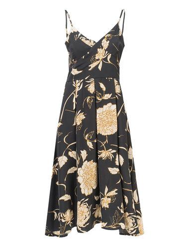 Платье 97%полиэстер, 3%эластан, цвет черный, арт. 18810555  - цена 1260 руб.  - магазин TOTOGROUP