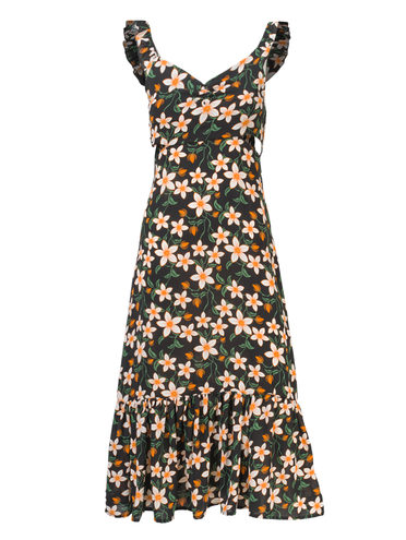 Платье 100% полиэстер, цвет черный, арт. 18810556  - цена 790 руб.  - магазин TOTOGROUP