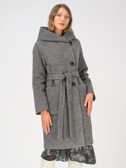 Текстильное пальто артикул 18810659/42 - фото 2