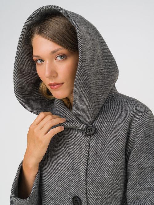 Текстильное пальто артикул 18810659/42 - фото 3