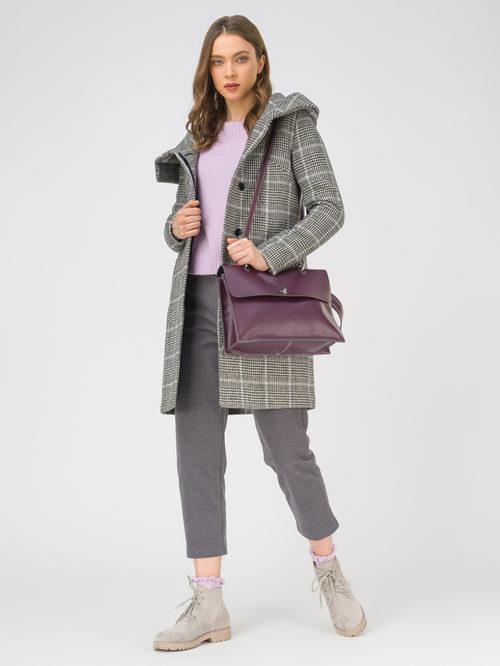 Текстильное пальто артикул 18810660/42 - фото 2