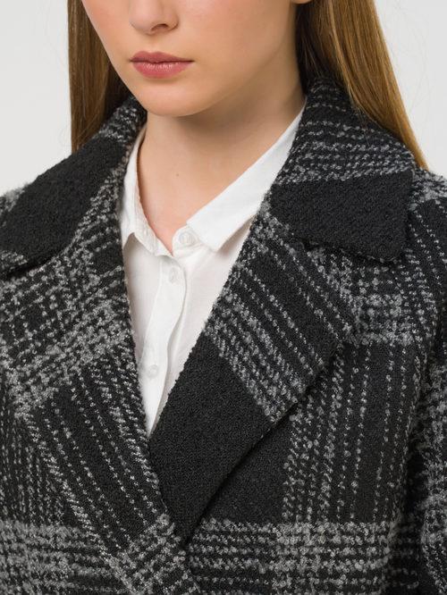 Текстильное пальто артикул 18810664/44 - фото 3