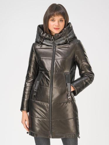 Кожаная куртка эко-кожа 100% П/А, цвет черный, арт. 18810803  - цена 11290 руб.  - магазин TOTOGROUP