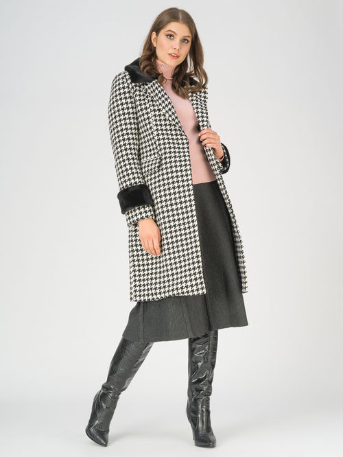 Текстильное пальто артикул 18810872/42 - фото 2