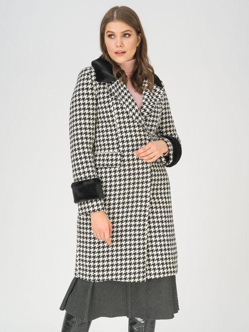 Текстильное пальто артикул 18810872/42 - фото 3