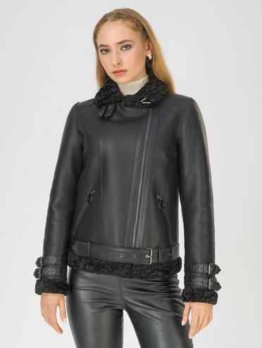 Дубленка эко-кожа 100% П/А, цвет черный, арт. 18810924  - цена 7990 руб.  - магазин TOTOGROUP
