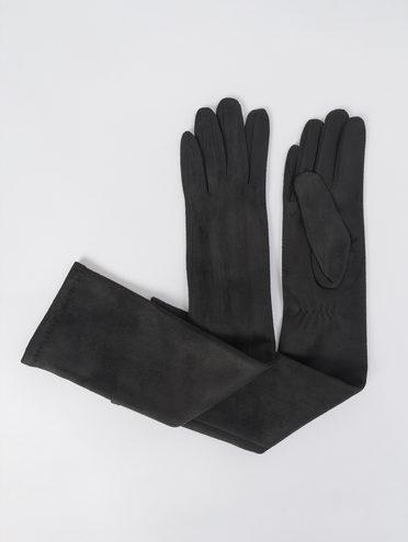 Перчатки трикотаж, цвет черный, арт. 18811054  - цена 640 руб.  - магазин TOTOGROUP