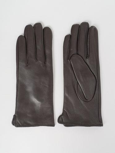 Перчатки кожа, цвет черный, арт. 18811071  - цена 1850 руб.  - магазин TOTOGROUP