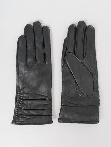 Перчатки кожа, цвет черный, арт. 18811072  - цена 1990 руб.  - магазин TOTOGROUP