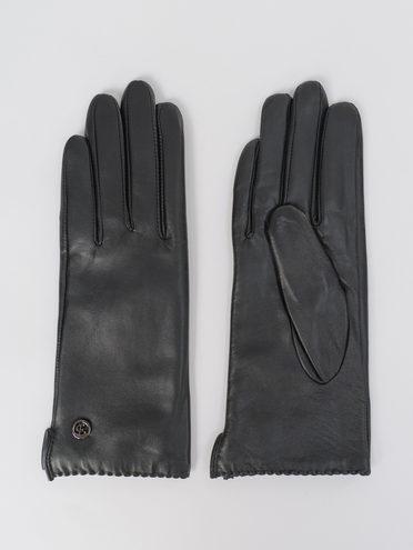 Перчатки кожа, цвет черный, арт. 18811073  - цена 1990 руб.  - магазин TOTOGROUP